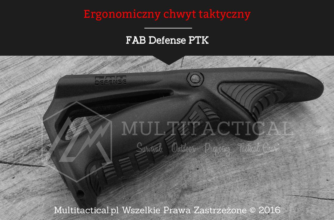 Multitactical.pl Ergonomiczny chwyt taktyczny FAB Defense PTK