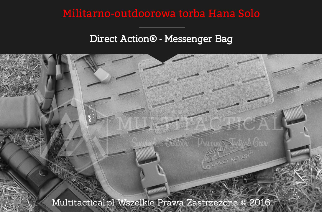 Multitactical.pl Torba taktyczno-outdoorowa Direct Action - Messenger Bag