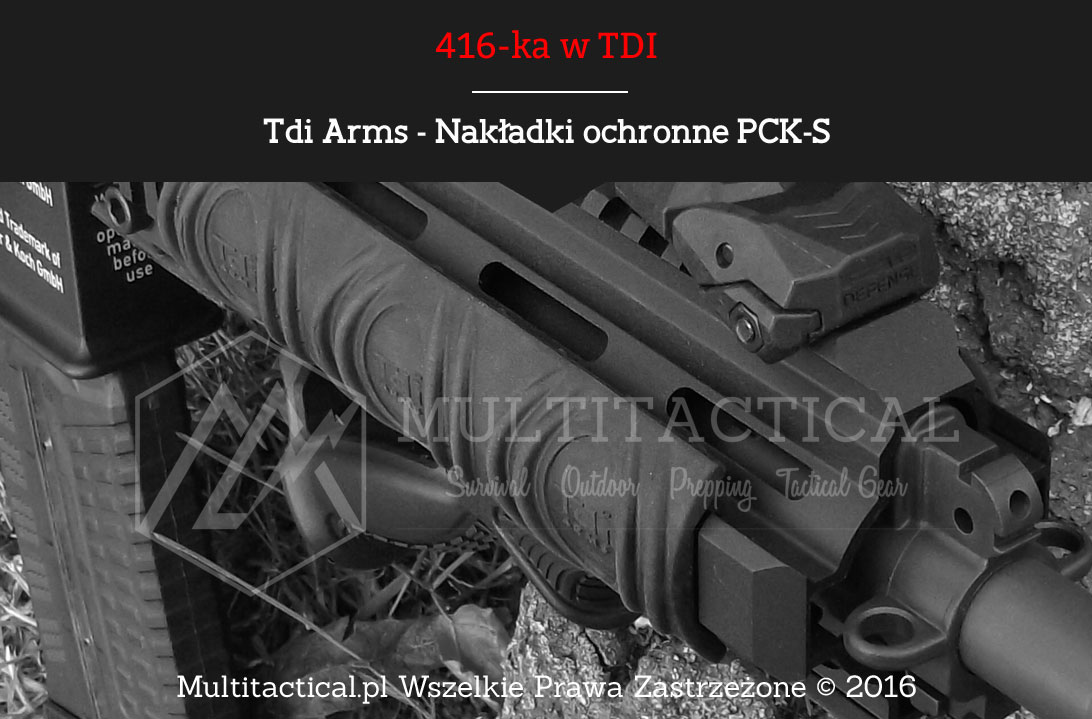 Multitactical.pl Nakładki ochronne PCK-S Tdi Arms