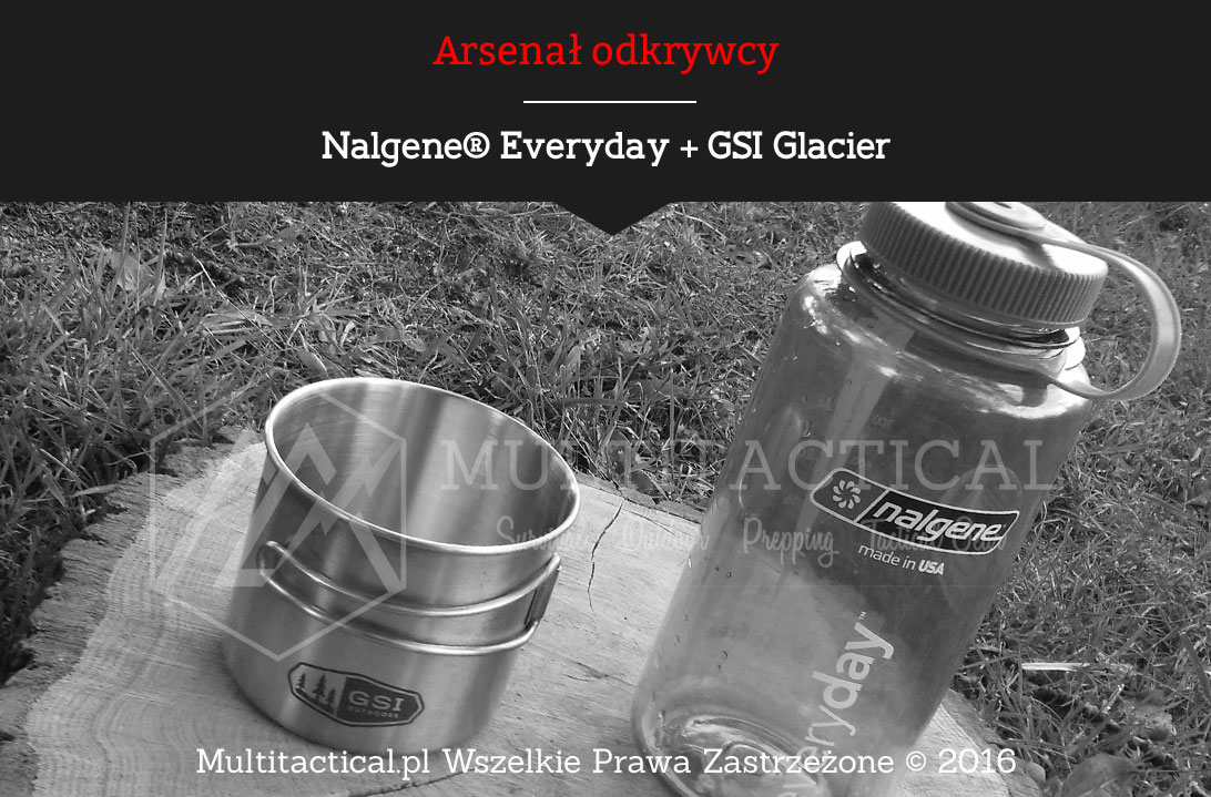 Multitactical.pl - Nalgene® Everyday + GSI Glacier