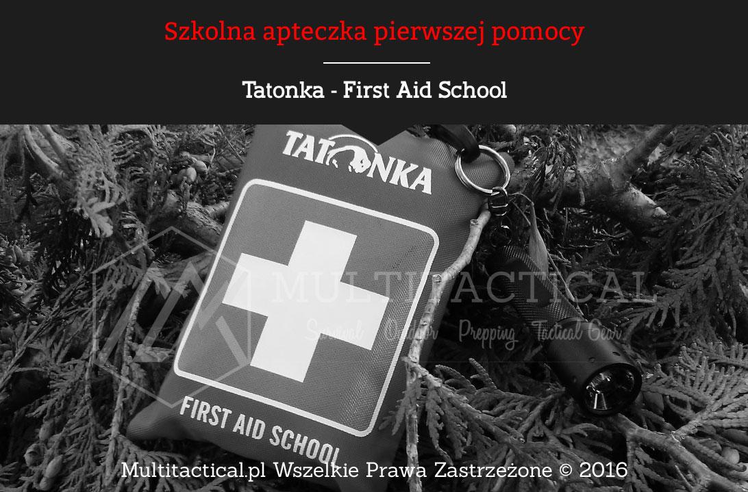 Multitactical.pl - Tatonka First Aid School - Szkolna apteczka pierwszej pomocy