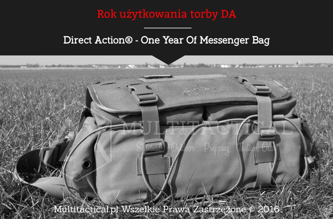 Multitactical.pl - Direct Action® Messenger Bag - rok użytkowania