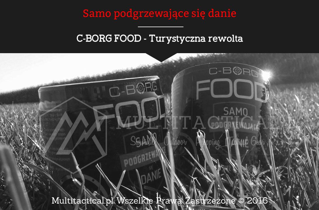 Multitactical.pl - C-BORG FOOD - Samo podgrzewające się danie