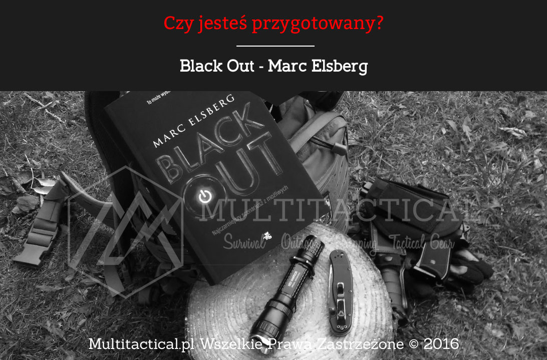 Multitactical.pl - Black Out - Marc Elsberg