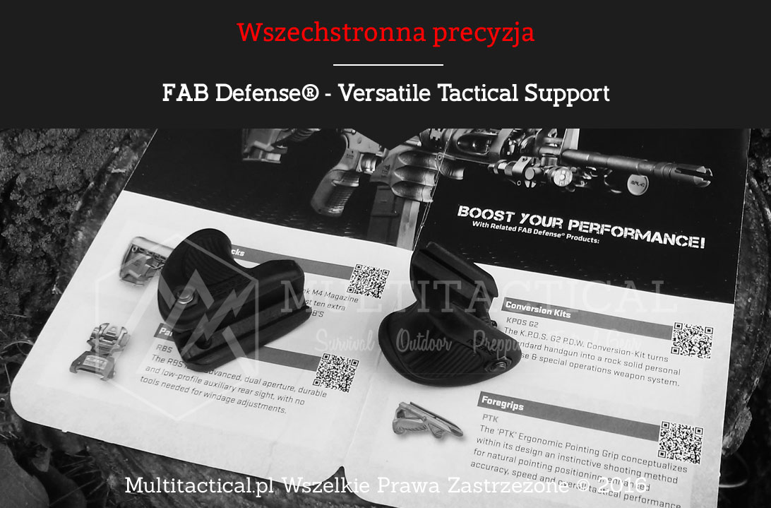 Multitactical.pl - FAB Defense® - Chwyt VTS - Versatile Tactical Support