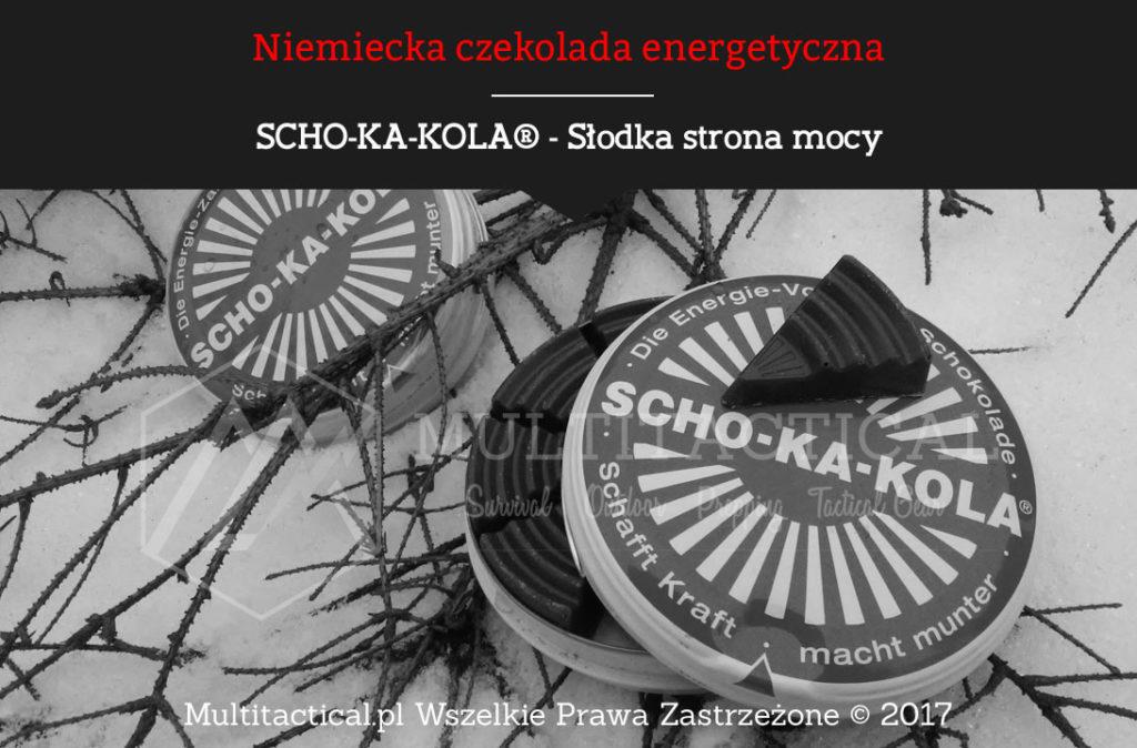 Multitactical.pl - SCHO-KA-KOLA® - Czekolada energetyczna