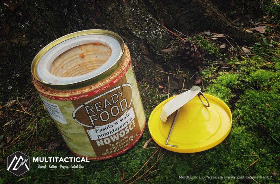 Multitactical.pl - READY FOOD SYSTEM - Gorący posiłek na biwaku i poligonie. Danie samopodgrzewające się MRE - Recenzja