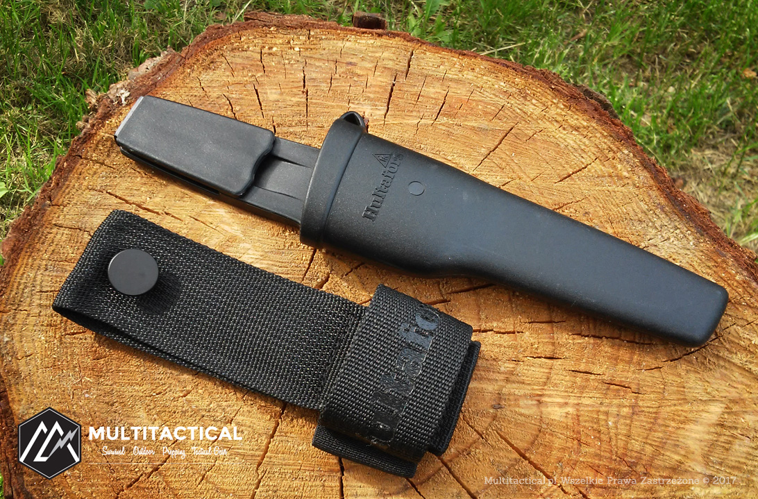 Multitactical.pl - HULTAFORS Outdoor Knives OK1 & OK4 - Noże do survivalu i bushcraftu - Recenzja