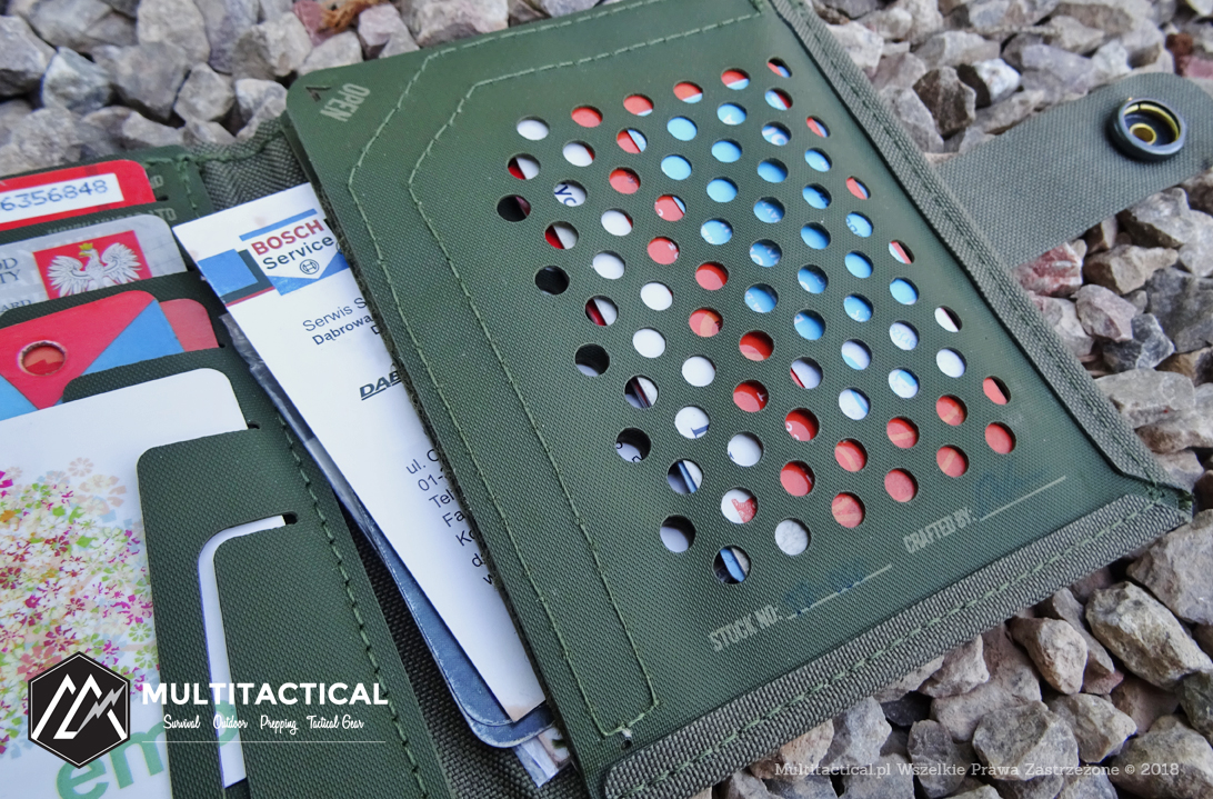 Multitactical.pl - Survival Outdoor Prepping Tactical Gear - HUSAR THALER® Medium - Recenzja portfela