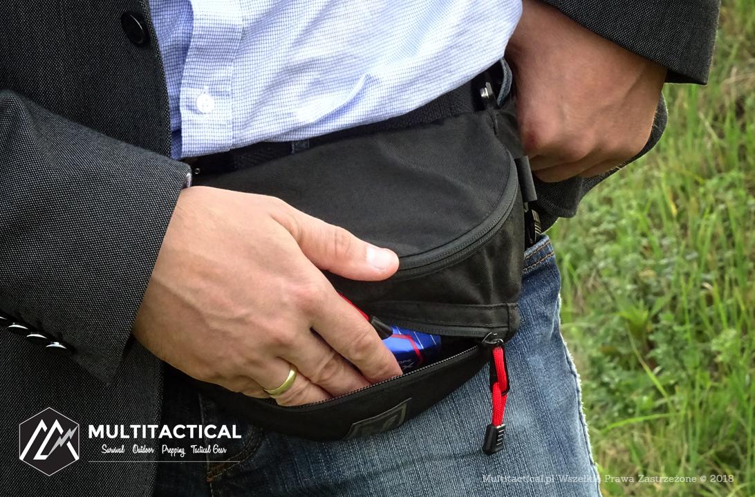 Multitactical.pl - Survival Outdoor Prepping Tactical Gear - HUSAR HERBALIST® GEN 1.0 - Recenzja torby biodrowej/nerki
