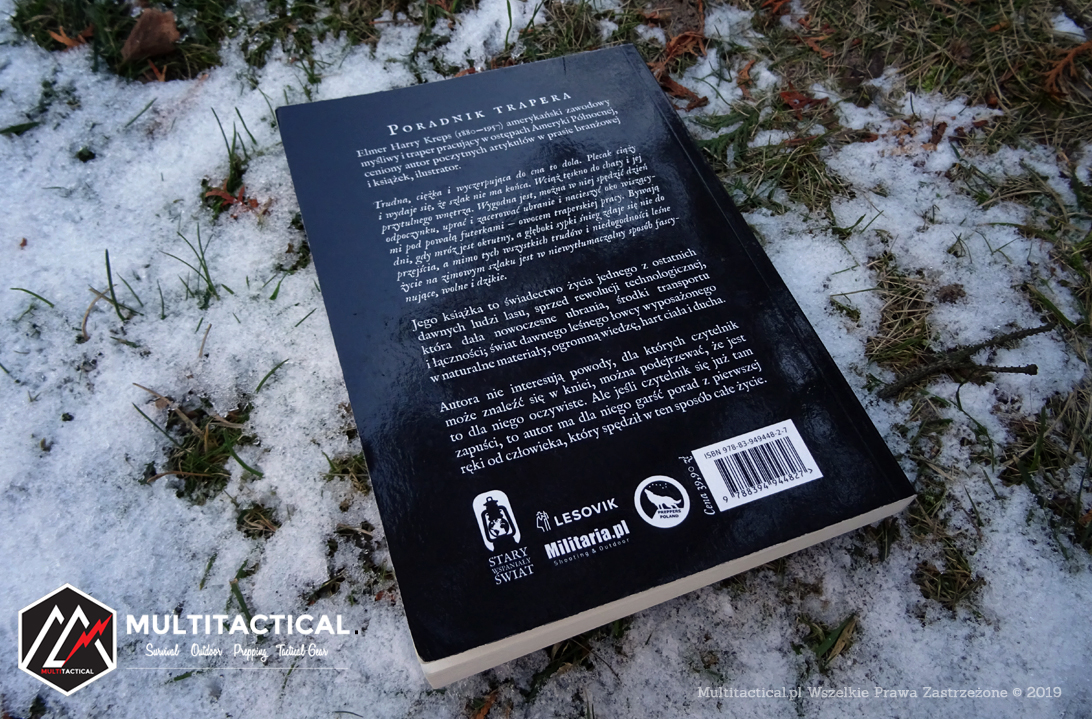 Multitactical.pl - Survival Outdoor Prepping Tactical Gear - Elmer Harry Kreps - Poradnik Trapera - Recenzja