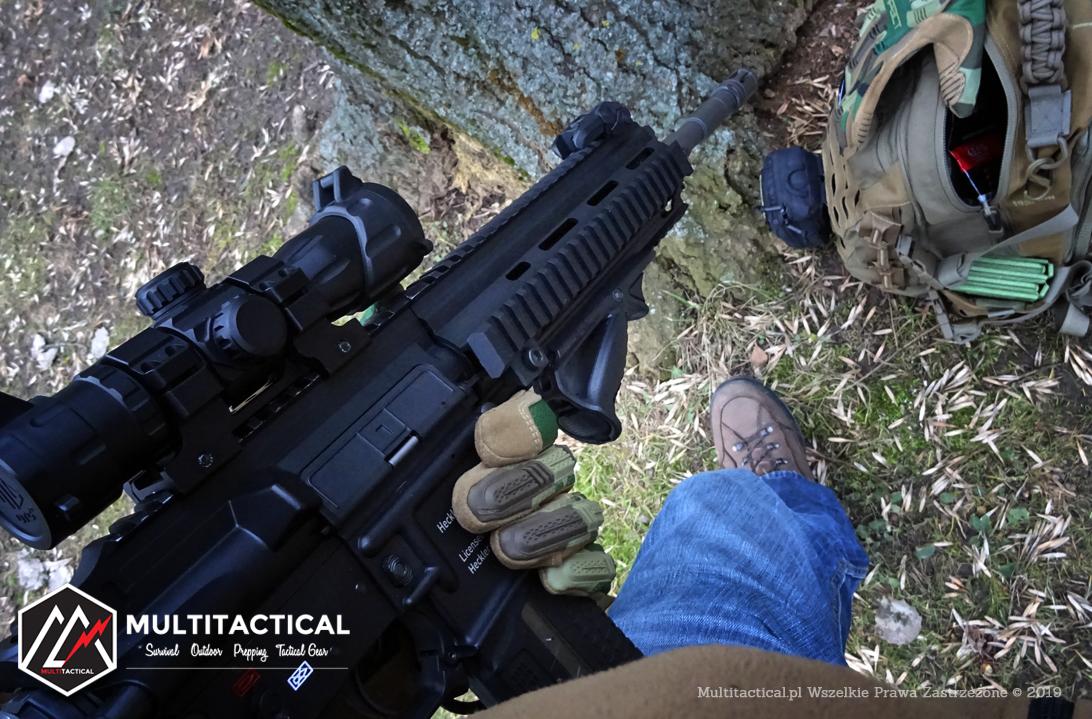 Multitactical.pl - Survival Outdoor Prepping Tactical Gear - Mechanix Wear M-Pact Woodland - Recenzja