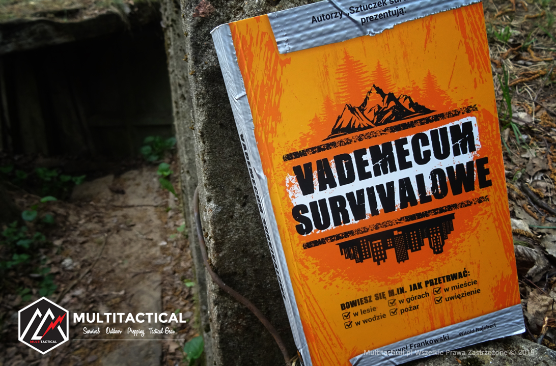 Multitactical.pl - Survival Outdoor Prepping Tactical Gear - Paweł Frankowski, Witold Rajchert - Vademecum Survivalowe - Recenzja