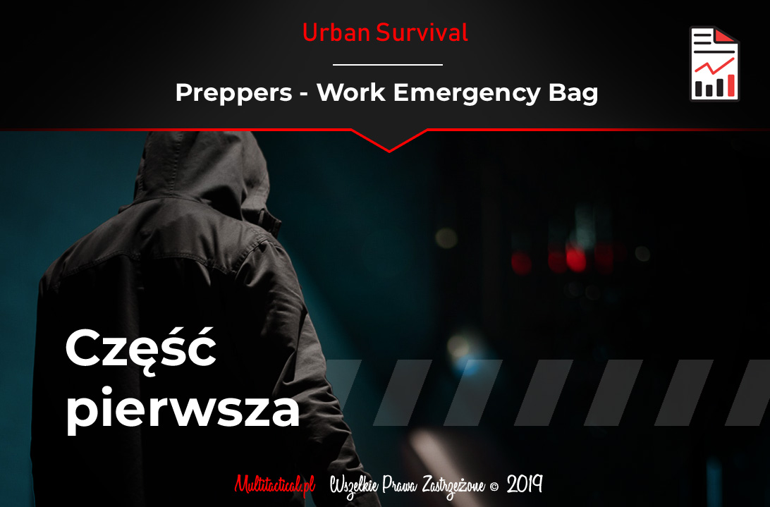 Multitactical.pl - Survival Outdoor Prepping Tactical Gear - Work Emergency Bag - Bądź przygotowany