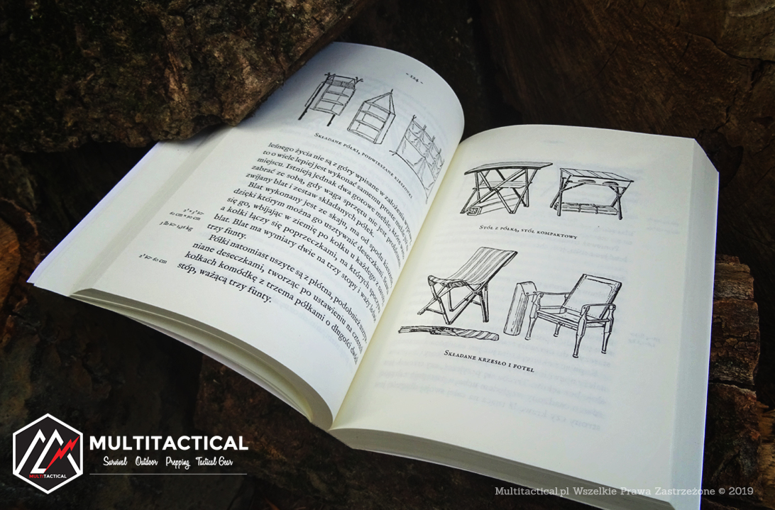 Multitactical.pl - Survival Outdoor Prepping Tactical Gear - Horace Sowers Kephart - Księga Tradycyjnego Obozowania - Tom1. Biwak - Recenzja