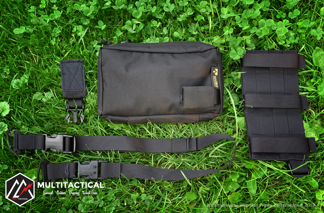 Multitactical.pl - Survival Outdoor Prepping Tactical Gear - Strider Adventure Gear - Nerka EDC - Mini portfel podróżny - Recenzja