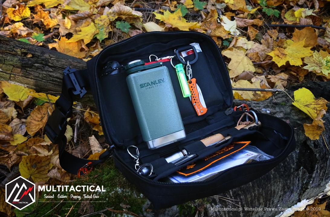 Multitactical.pl - Survival Outdoor Prepping Tactical Gear - Strider Adventure Gear - Nerka EDC - Mini portfel podróżny - Recenzja