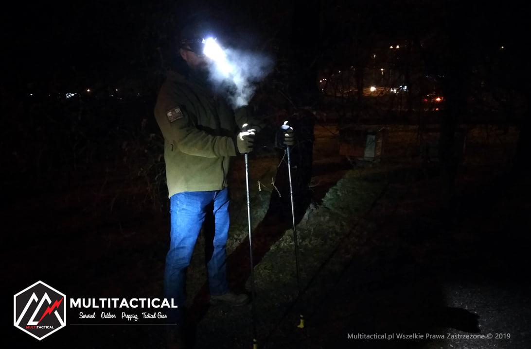 Multitactical.pl - Survival Outdoor Prepping Tactical Gear - Fenix™ HL60R - Latarka czołowa - Recenzja