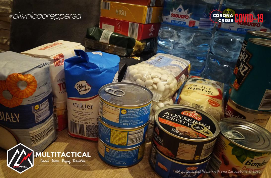 Multitactical.pl - Survival Outdoor Prepping Tactical Gear - Preppers - Piwnica preppersa - Jak przygotować się na sytuacje kryzysowe - Zapasy na trudne czasy