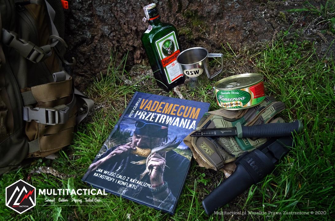 Multitactical.pl - Survival Outdoor Prepping Tactical Gear - Preppers - Piotr Czuryłło - Vademecum Przetrwania - Jak wyjść cało z kataklizmu, katastrofy i konfliktu - Recenzja