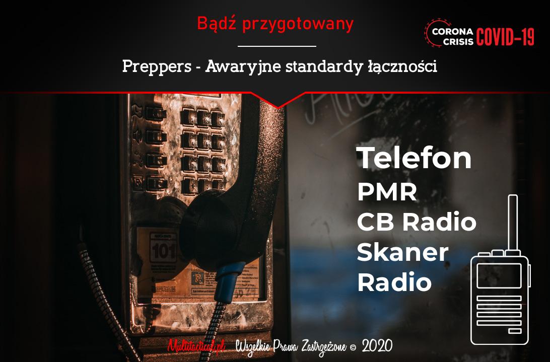 Multitactical.pl - Survival Outdoor Prepping Tactical Gear - Preppers - Awaryjny standard łączności dla polskich preppersów