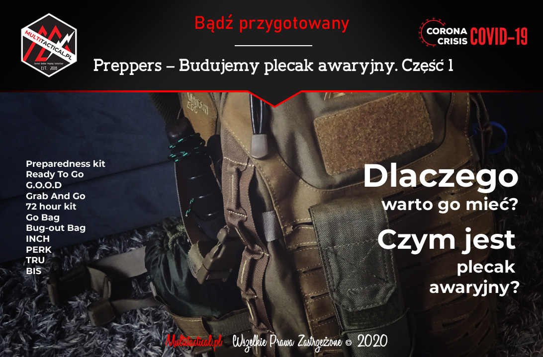 Multitactical.pl - Survival Outdoor Prepping Tactical Gear - Preppers - Bug-out Bag - Budujemy plecak awaryjny