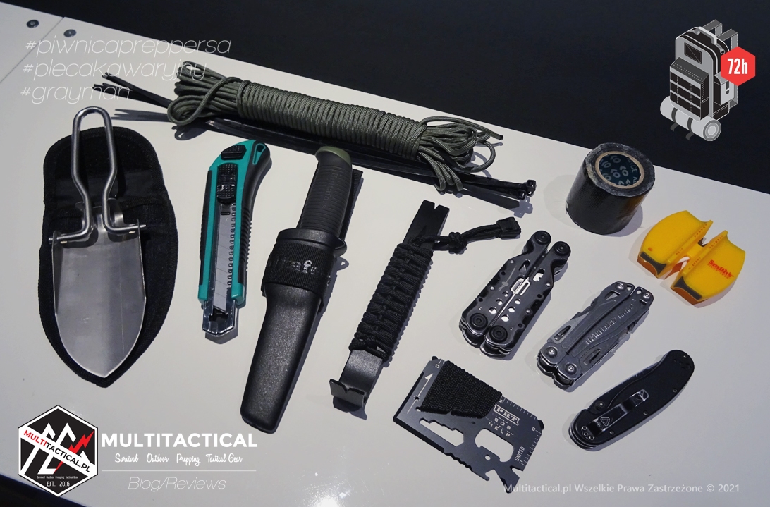 Multitactical.pl - Survival Outdoor Prepping Tactical Gear - Preppers - Bug-out Bag - Budujemy plecak awaryjny - Wyposażenie i narzędzia plecaka awaryjnego